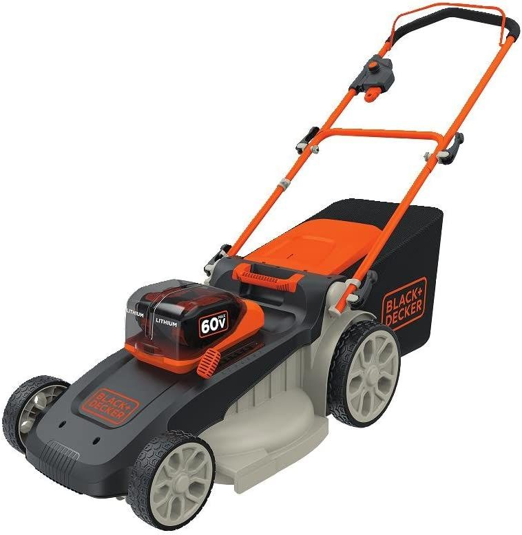 black and decker 20 inch lawn mower