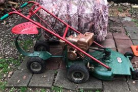 What To Do With Old Lawn Mowers