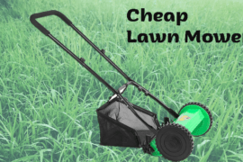 Where To Get Cheap Lawn Mowers