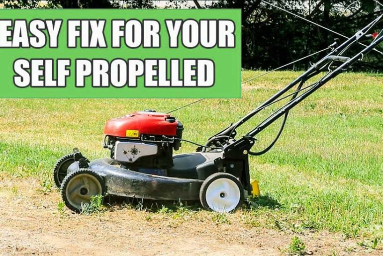 How To Repair Self Propelled Lawn Mowers