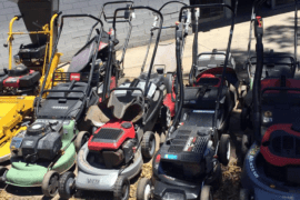 Who Sells Used Lawn Mowers