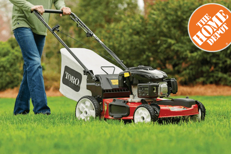 Home Depot Lawn Mowers