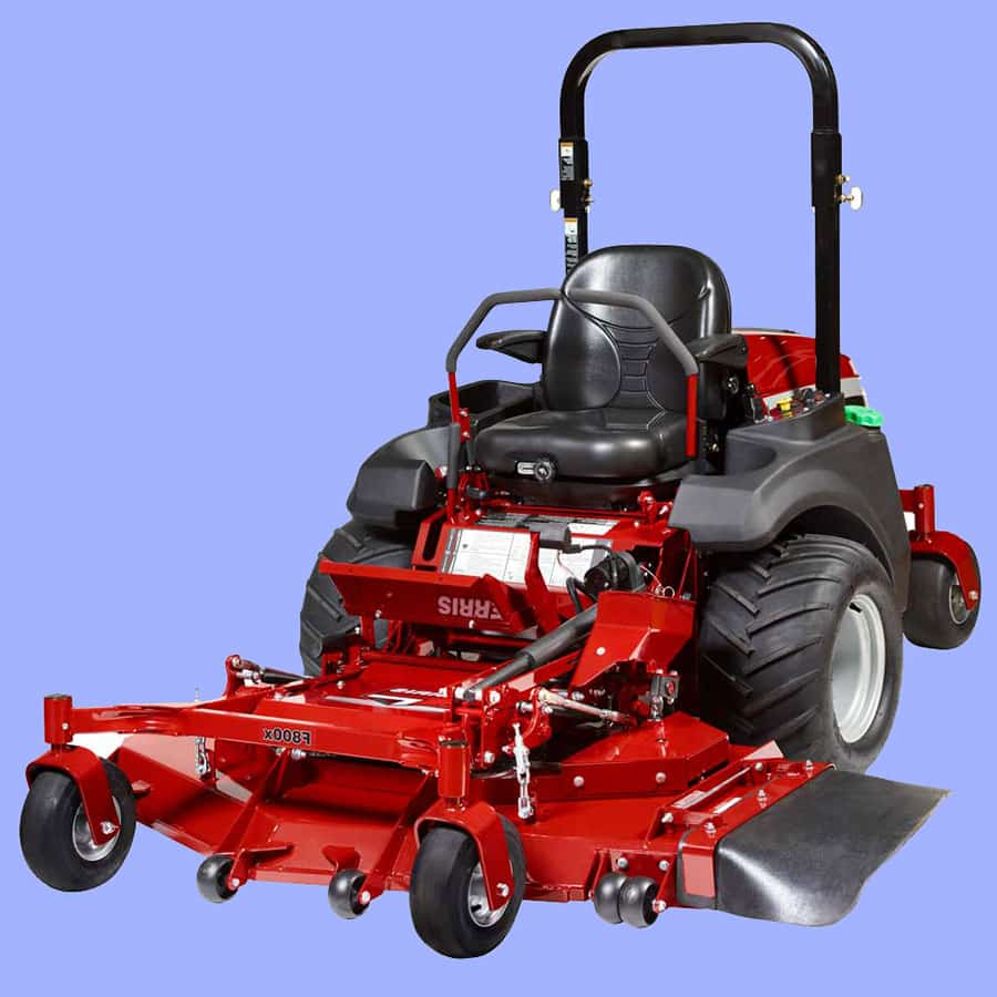 Ferris F800X Front Mount Mower Series review