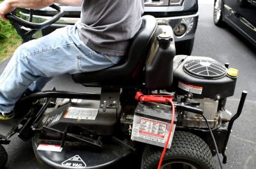 How To Charge A Lawn Mower Battery With A Car