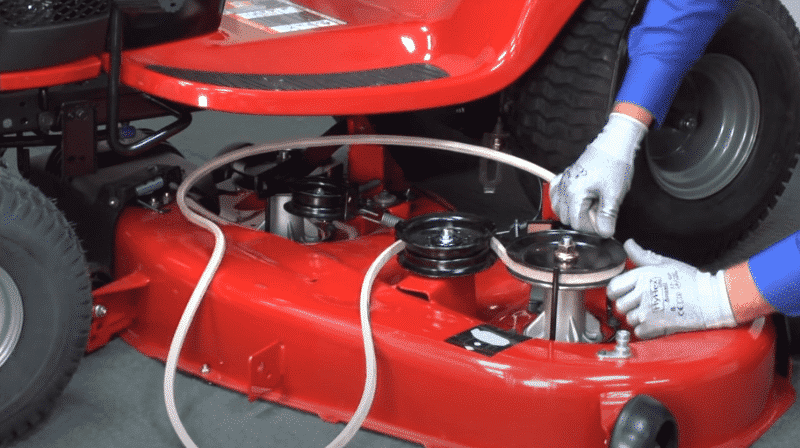 How To Replace Drive Belt On Craftsman Lawn Mower