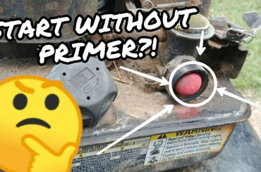 How To Start Lawn Mower Without Primer Bulb
