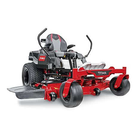 Toro TITAN 60 in. Fab Deck Zero-Turn Mower with MyRide