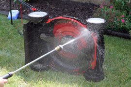 How To Clean Lawn Mower
