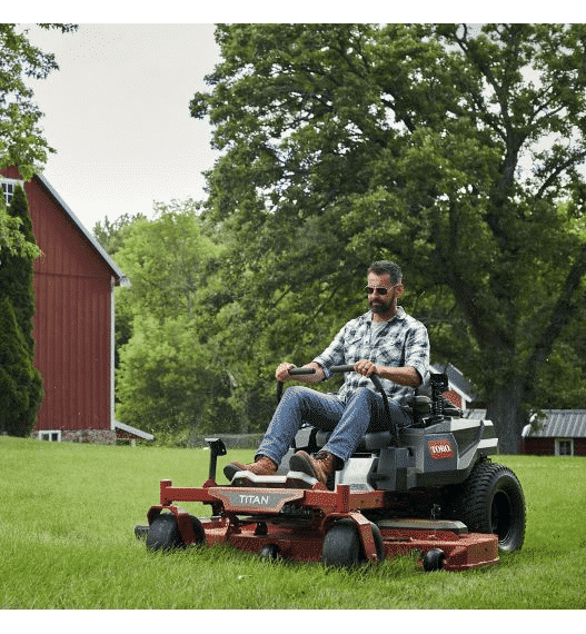 Toro TITAN 60 in. Fab Deck Zero-Turn Mower with MyRide review