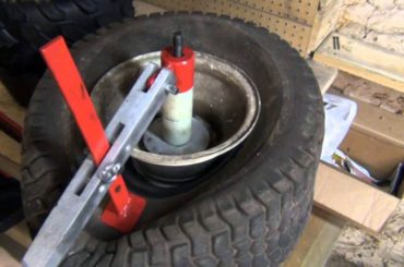 How To Change Lawn Mower Tire