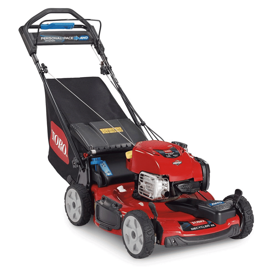 Toro 22 in. Recycler All-Wheel Drive