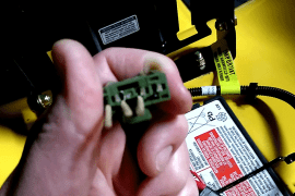 process to bypass safety switch on lawnmower