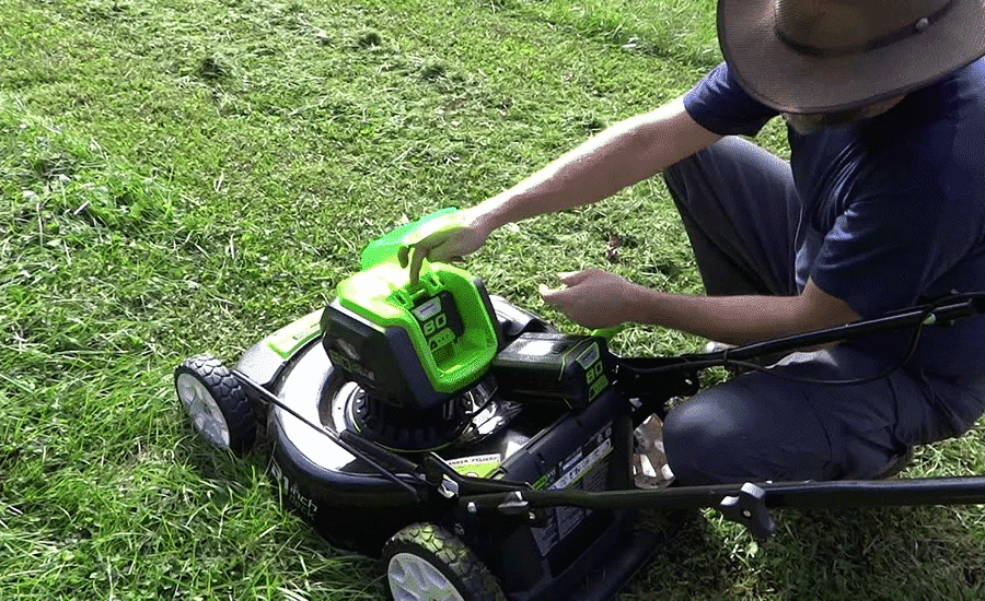 Greenworks Mower 80v