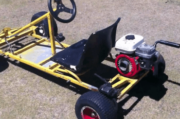 How To Build A Go Kart From A Lawn Mower Engine