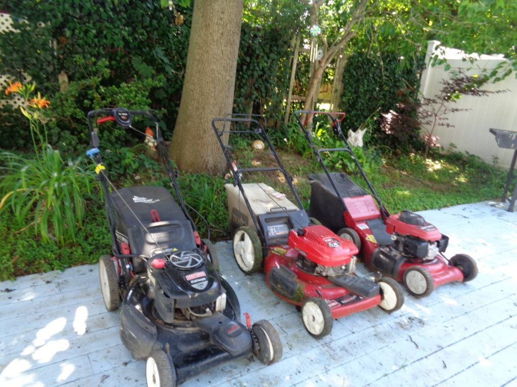 How To Get Rid Of An Old Lawnmower