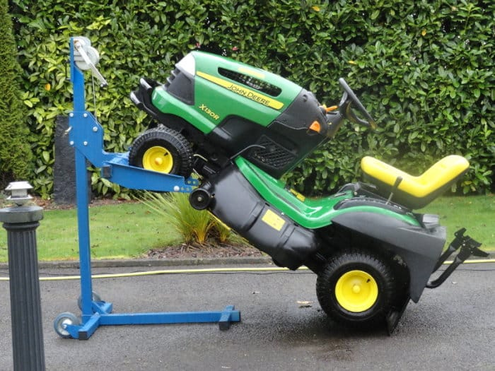 How To Clean The Underside Of A Riding Mower