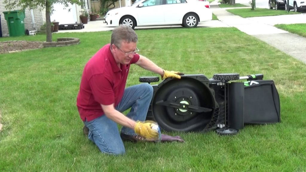 How To Keep Grass From Clogging Mower Deck