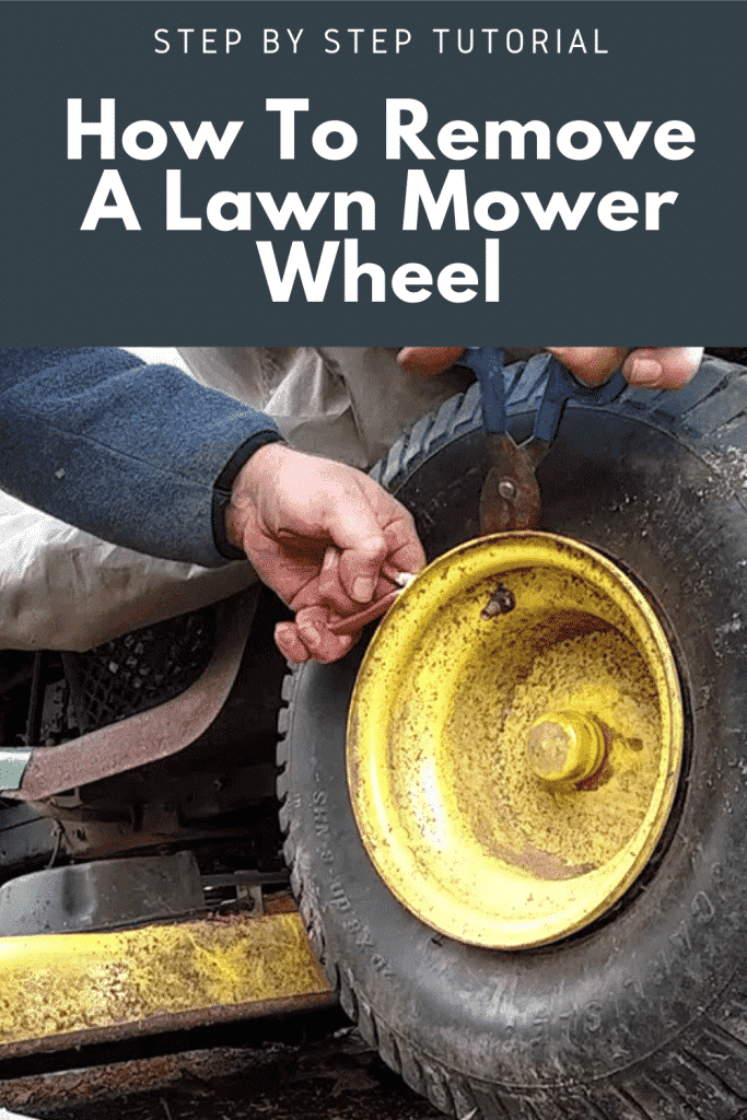 How To Remove A Lawn Mower Wheel