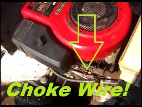 Lawn Mower Starts Then Dies. Problem #5:  Fault in the choke