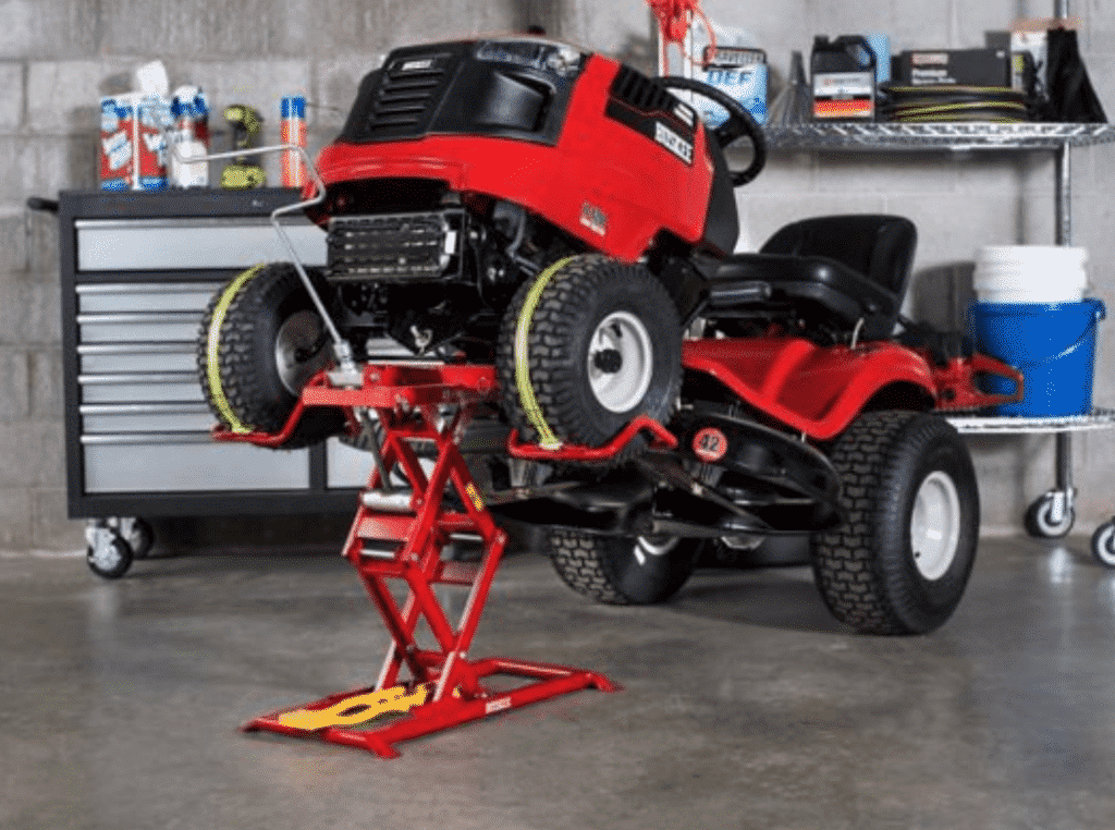 Huskee 350 lb. huskee riding Lawn Mower Lift