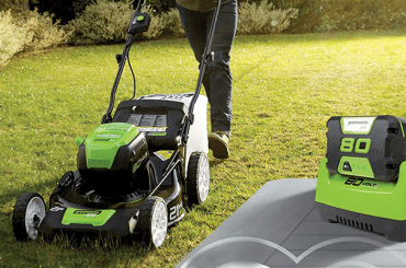 greenworks mower battery