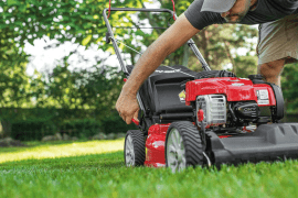 troy bilt self propelled mower