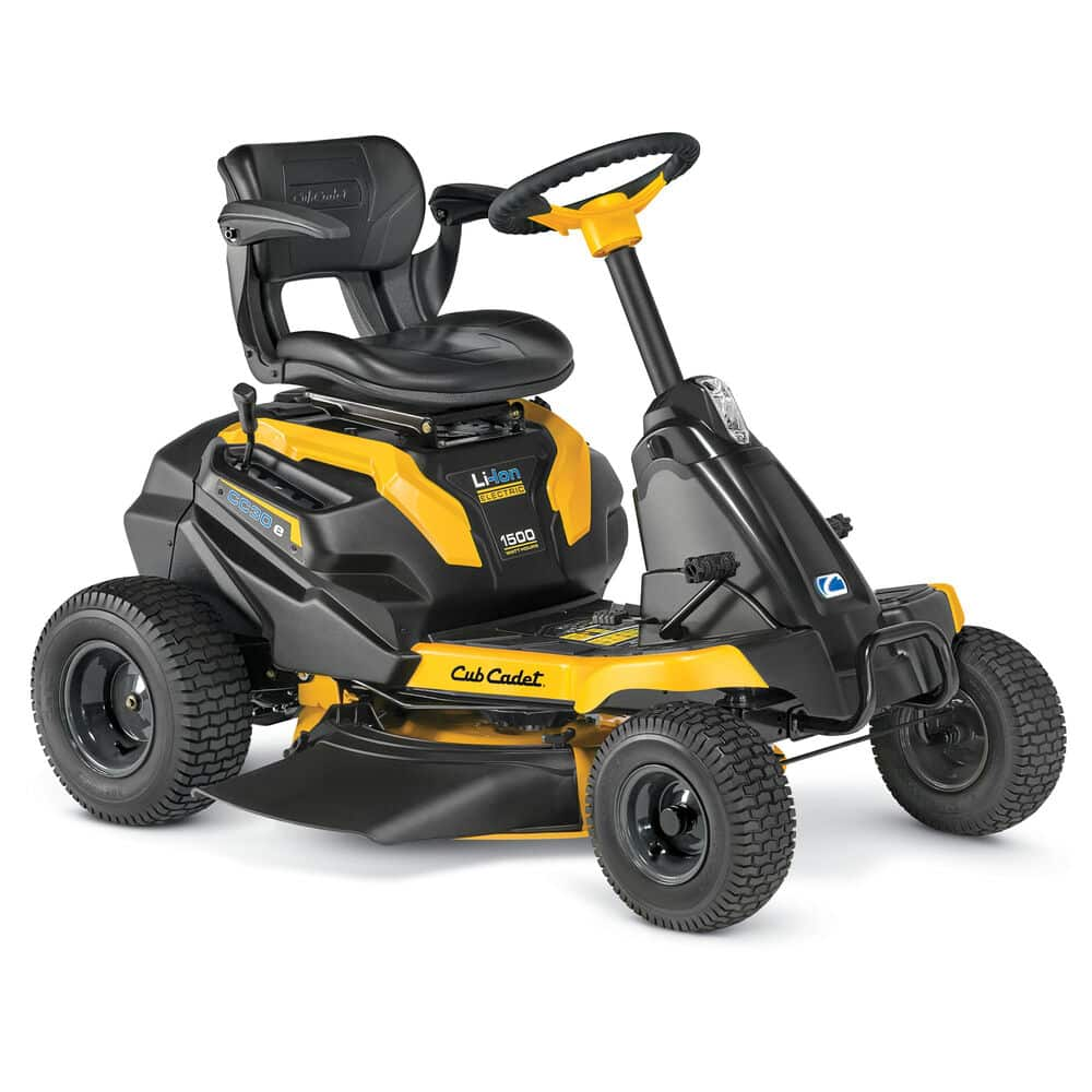 CC 30 e Electric Rider best riding lawn mower for 2 acres