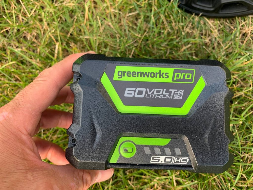 Greenworks Electric Lawn Mower Power