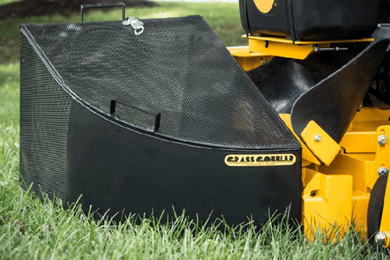How To Attach Grass Catcher To Lawn Mower