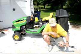 How To Remove John Deere Mower Blades