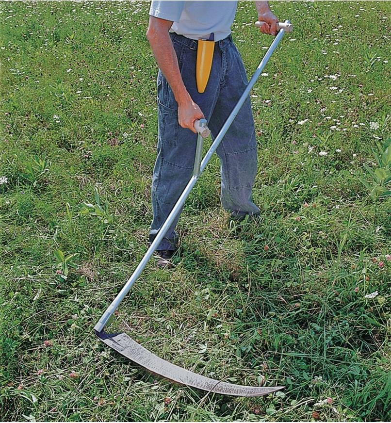 Scythe How To Cut Grass Without A Lawnmower