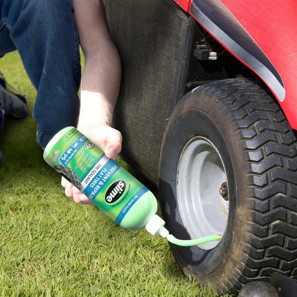 The Process To Fix A Riding Lawnmower Flat Tire