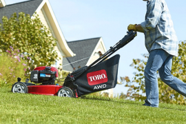 toro push mower