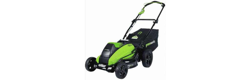 GreenWorks DigiPro G-MAX 40V Cordless Lawn Mower
