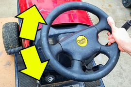 How To Fix Steering On Riding Lawn Mower