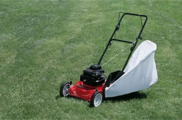 How To Put Bag On Lawn Mower