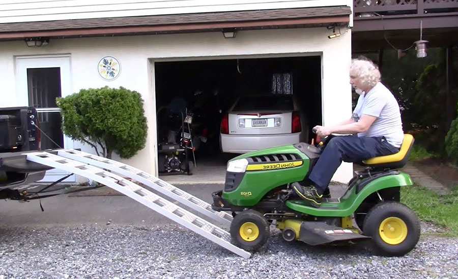 How To Transport A Riding Lawn Mower